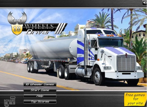 Truck Driving: Truck Driving Games Unblocked