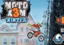 Moto X3M 4: Winter (HTML 5)