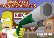 Homer and Flanders Killer 5
