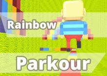 Rainbow Parkour by Kogama