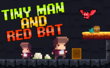 two man red bat