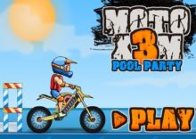 Moto X3M 5 Pool Party (HTML 5)