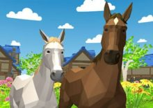 Horse Family Animal Simulator