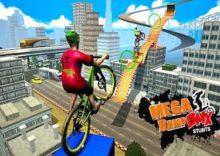 Parkour Heroes BMX Stunt Bike Tournament