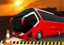 Modern Bus Parking Adventure
