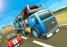 Car Transport Cargo Truck