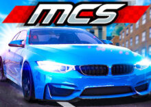Mega-City Stunt (MCS) game - With 2 Players Mode