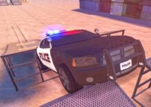 Drift and Score with a Police Car